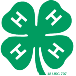 Graphic of the 4H shamrock logo