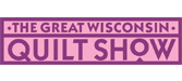 Logo for The Great Wisconsin Quilt Show