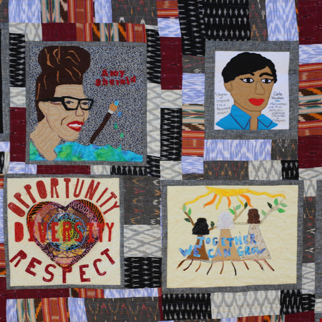 Social Justice Quilt Sample