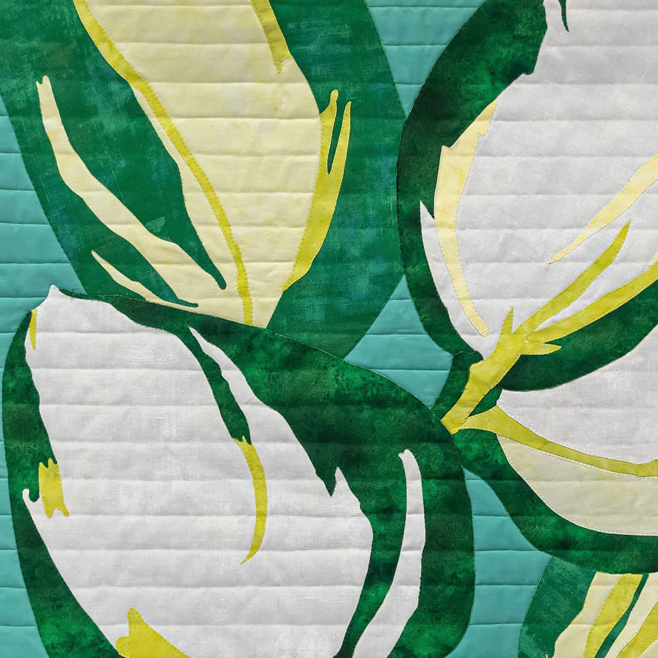 Botanical quilt challenge