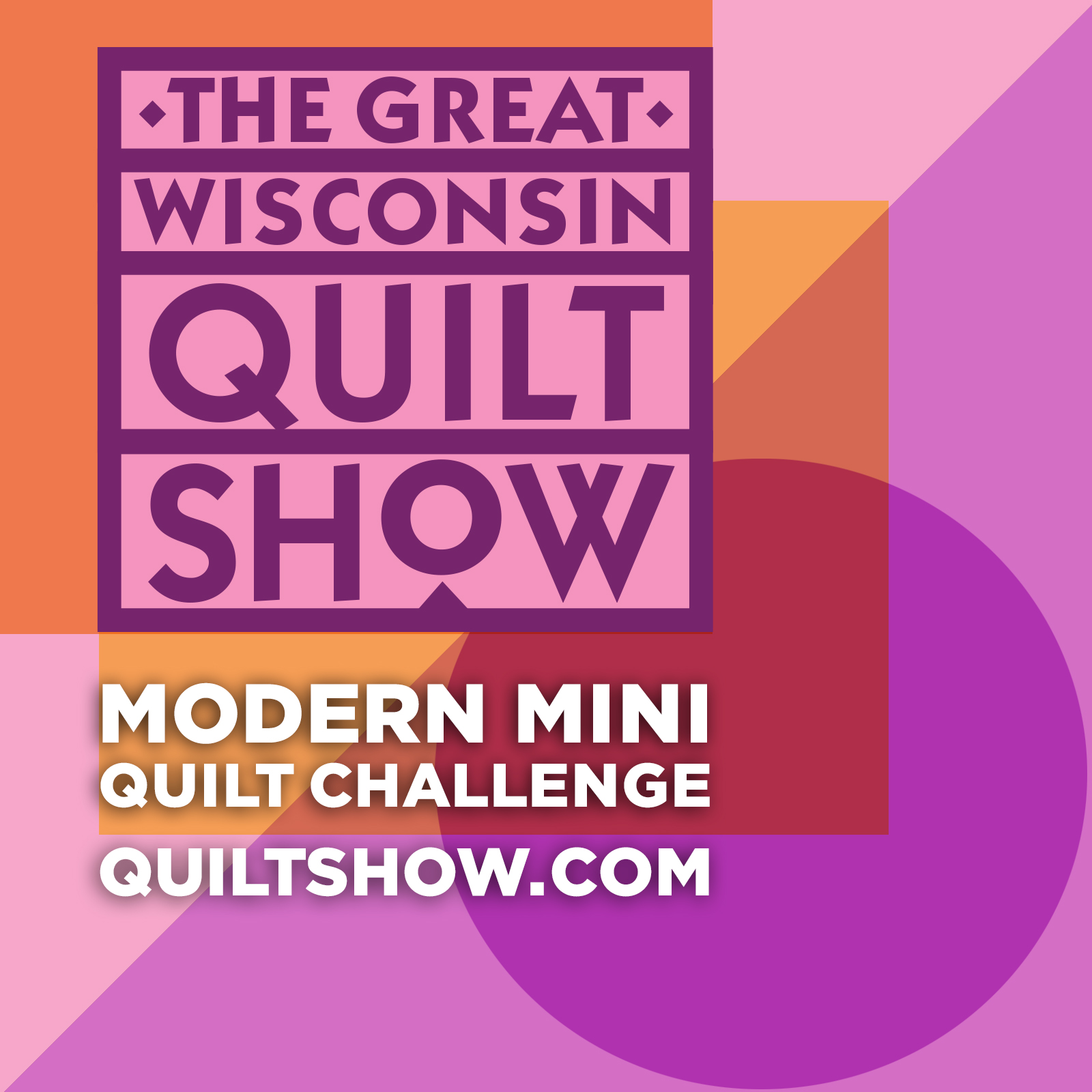 Badge image for the Modern Mini Quilt Challenge