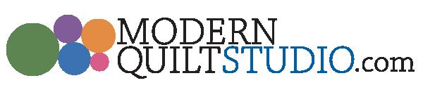 Color logo for Modern Quilt Studio
